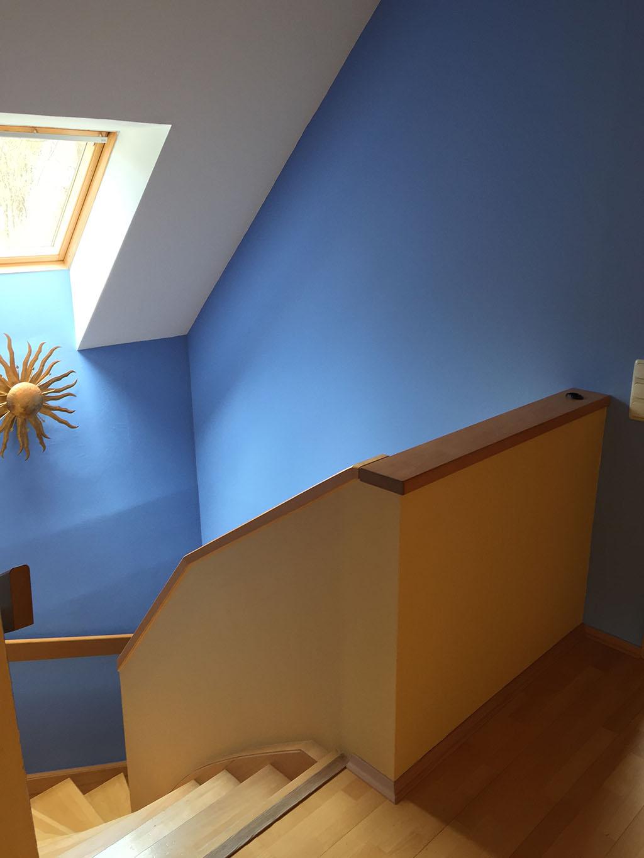 Farbgestaltung treppenhaus einfamilienhaus  Einfamilienhaus freistehend, Graz - Thomas Rava